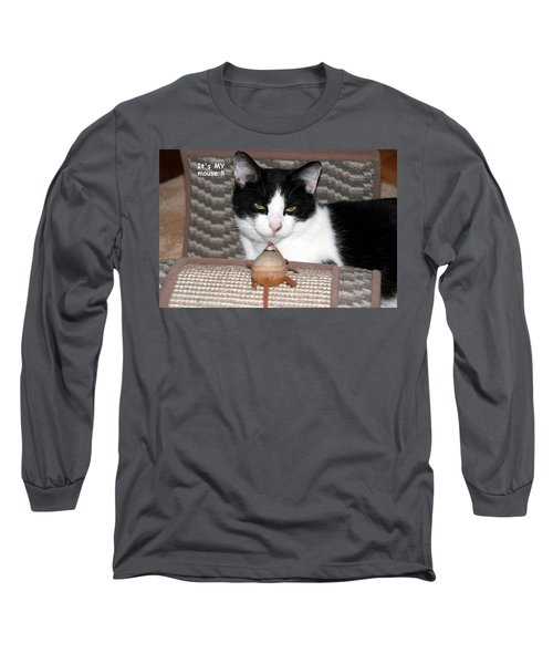 This Is My Mouse Long Sleeve T-Shirt by Laurel Talabere