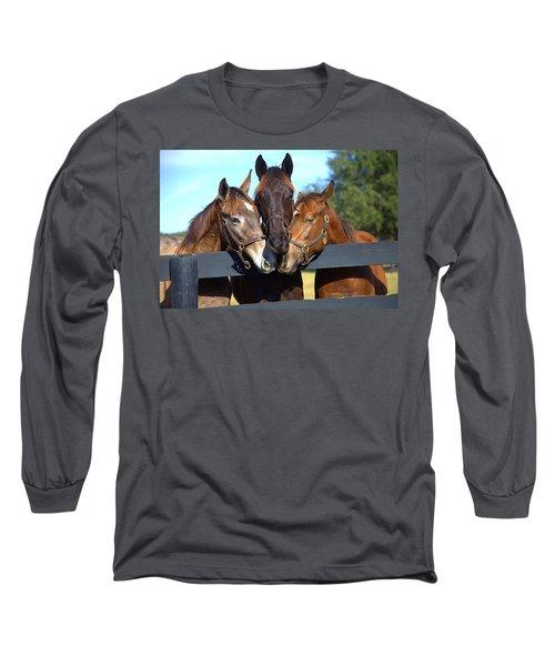 Three Friends Long Sleeve T-Shirt