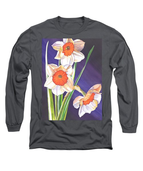 Three Jonquils Long Sleeve T-Shirt