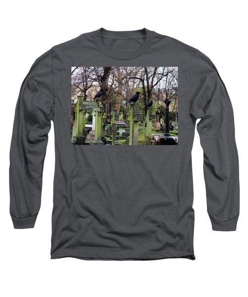 Three Ravens Long Sleeve T-Shirt