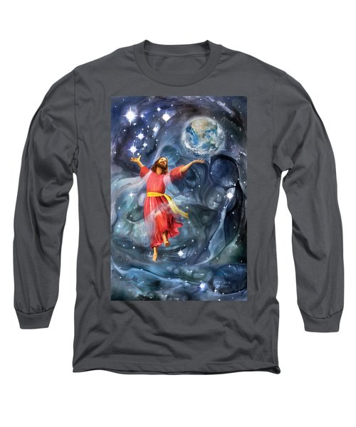 Through Him Long Sleeve T-Shirt by Francesa Miller