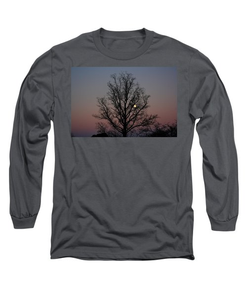 Through The Boughs Landscape Long Sleeve T-Shirt by Dan Stone