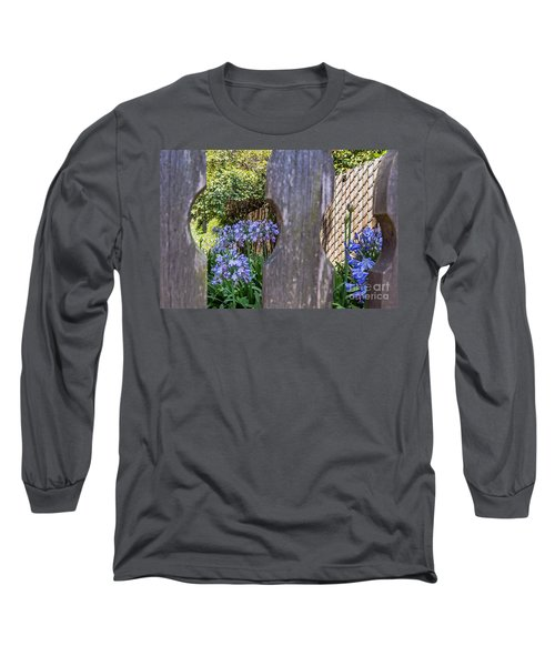 Long Sleeve T-Shirt featuring the photograph Through The Fence by Kate Brown