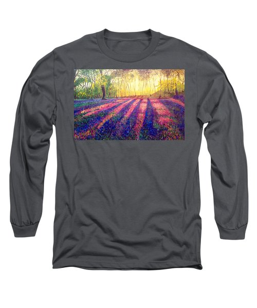 Long Sleeve T-Shirt featuring the painting Through The Light by Belinda Low