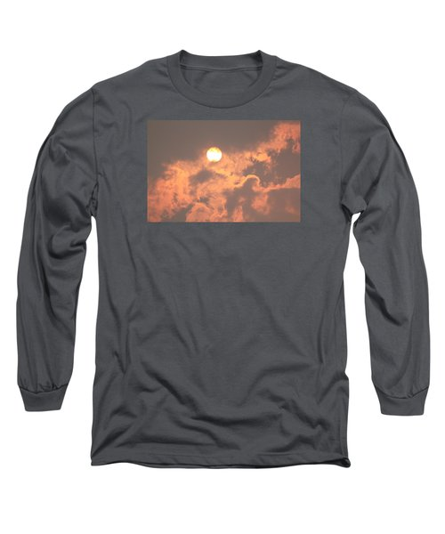 Through The Smoke Long Sleeve T-Shirt by Melanie Lankford Photography