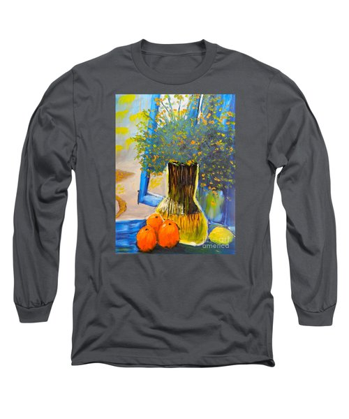 Through The Window Long Sleeve T-Shirt by Pamela  Meredith