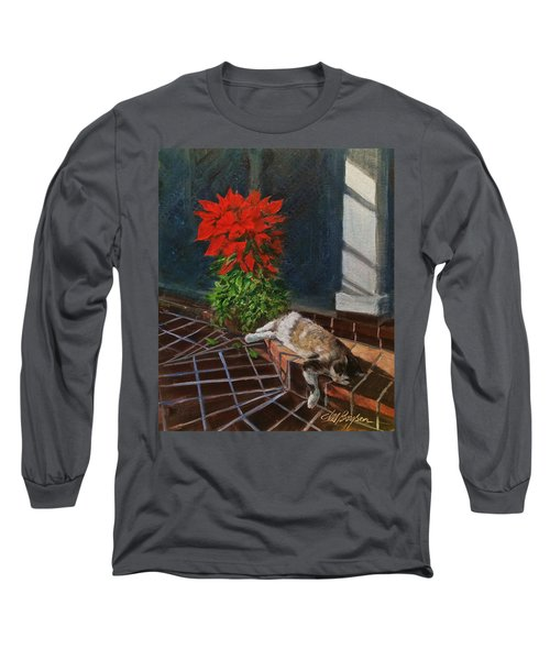 Tiger Lily In Repose Long Sleeve T-Shirt