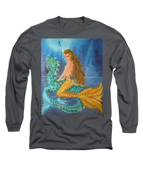 Tiger Lily Tails Long Sleeve T-Shirt