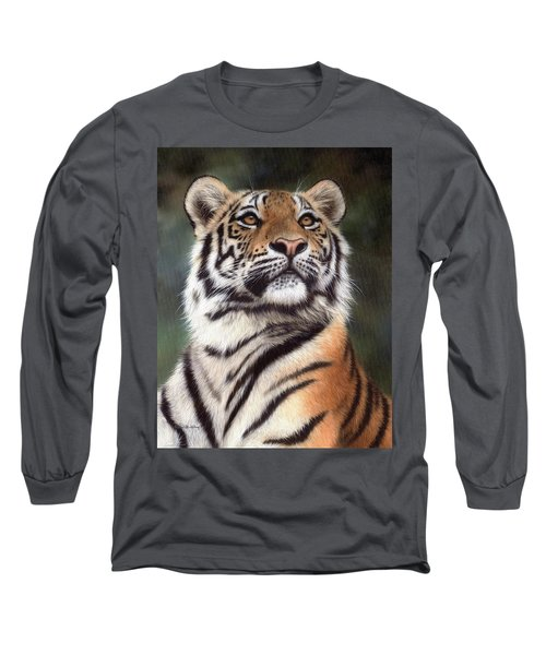 Tiger Painting Long Sleeve T-Shirt