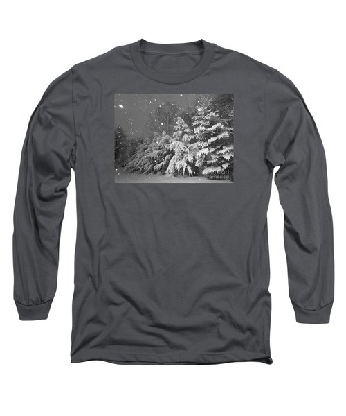 Time For Bed Long Sleeve T-Shirt by Elizabeth Dow