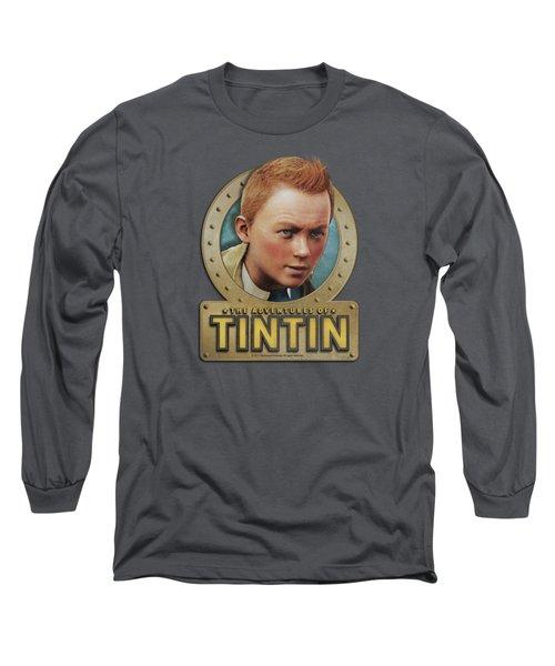 Tintin - Metal Long Sleeve T-Shirt