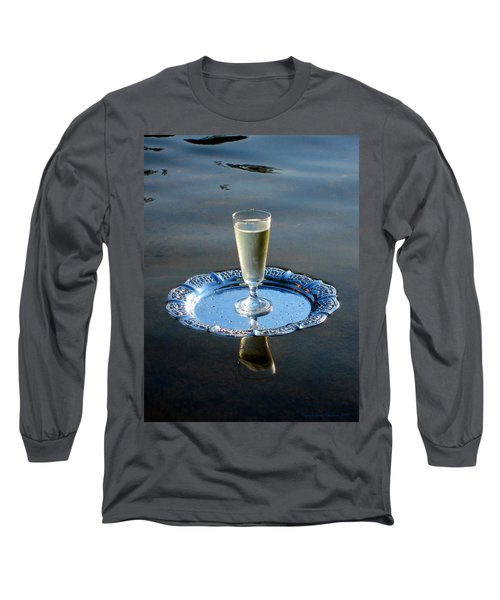 Long Sleeve T-Shirt featuring the photograph Toast To Life by Leena Pekkalainen