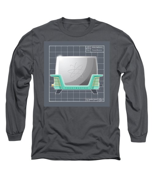 Toastmaster - Aqua Long Sleeve T-Shirt