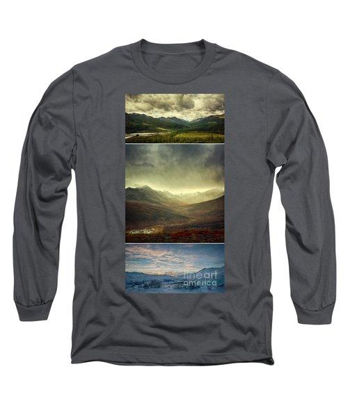 Tombstone Range Seasons Vertical Long Sleeve T-Shirt