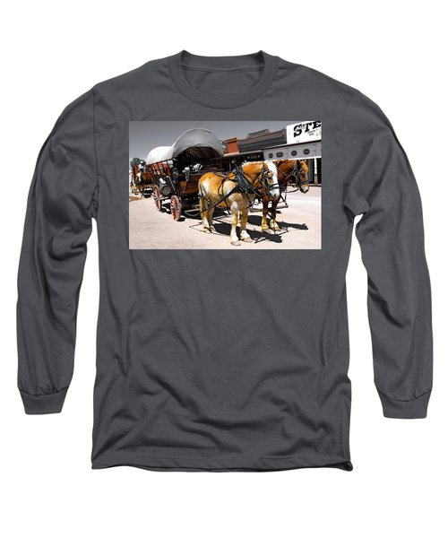 Tombstone Wagon Long Sleeve T-Shirt