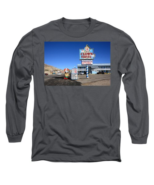 Tonopah Nevada - Clown Motel Long Sleeve T-Shirt
