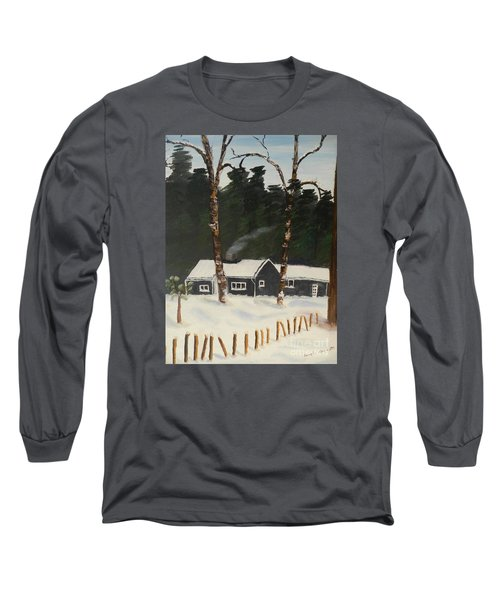 Tonys House In Sweden Long Sleeve T-Shirt