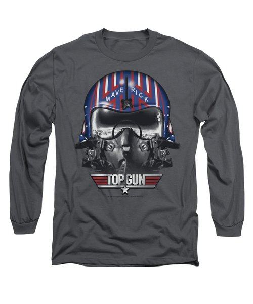 Top Gun - Maverick Helmet Long Sleeve T-Shirt