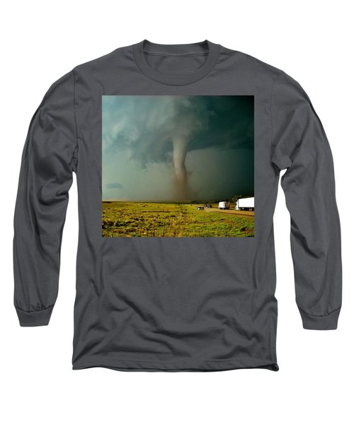 Tornado Truck Stop II Long Sleeve T-Shirt
