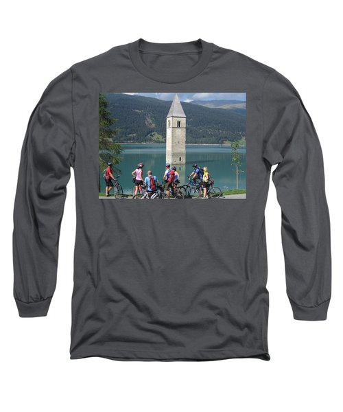 Tower In The Lake Long Sleeve T-Shirt