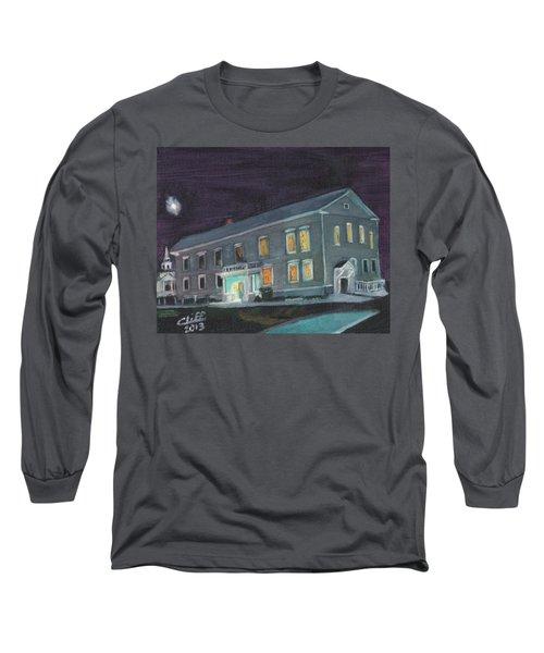 Town Hall At Night Long Sleeve T-Shirt