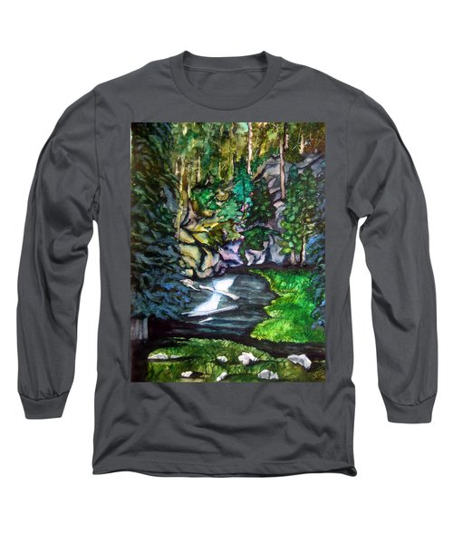 Trail To Broke-off Long Sleeve T-Shirt by Lil Taylor