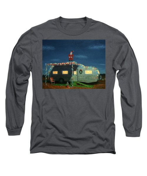 Trailer House Christmas Long Sleeve T-Shirt