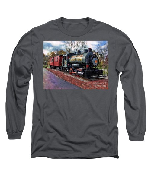 Train At Olmsted Falls - 1 Long Sleeve T-Shirt