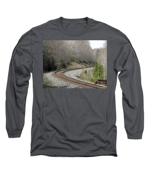 Train It Coming Around The Bend Long Sleeve T-Shirt