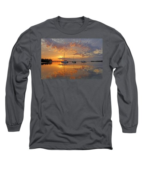 Tranquility Bay - Florida Sunrise Long Sleeve T-Shirt
