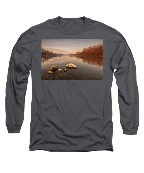 Tranquility Long Sleeve T-Shirt by Davorin Mance
