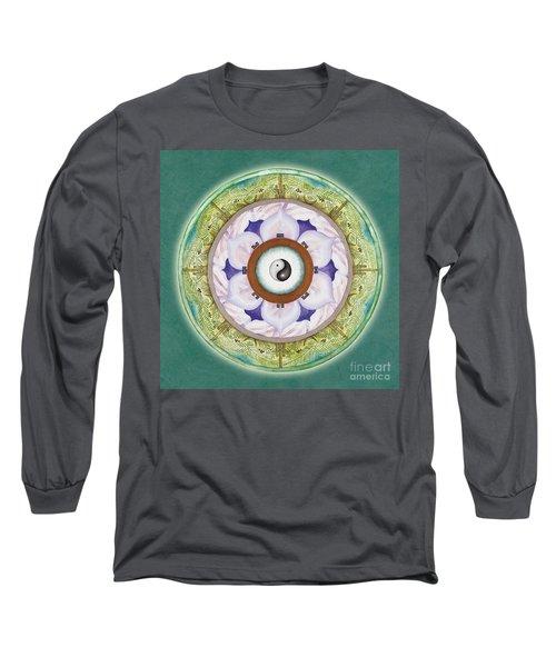 Tranquility Mandala Long Sleeve T-Shirt