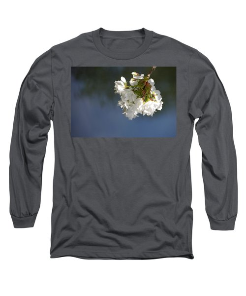 Long Sleeve T-Shirt featuring the photograph Tree Blossoms by Marilyn Wilson