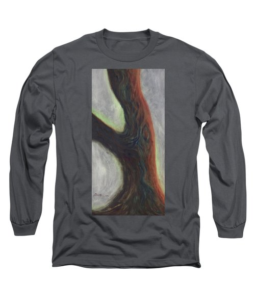Tree Cut Off Long Sleeve T-Shirt