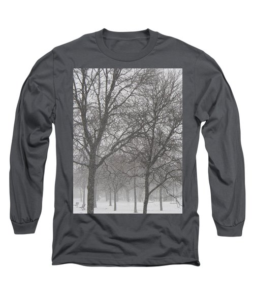 Trees Of Silence Long Sleeve T-Shirt