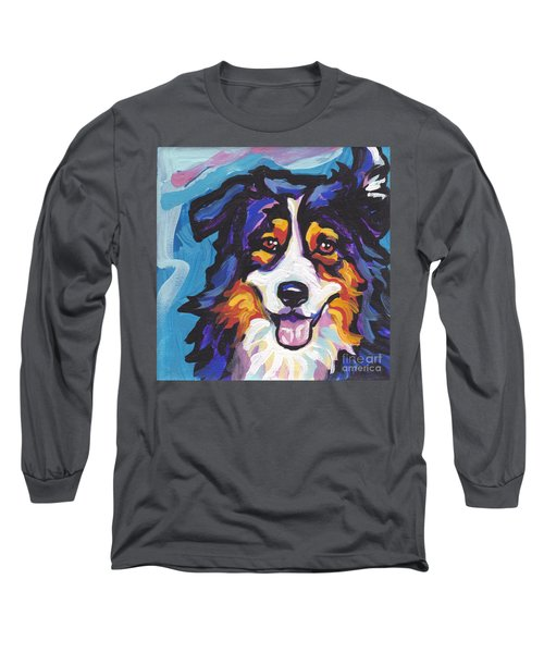Tri Aussie Long Sleeve T-Shirt