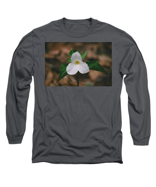 Trillium Long Sleeve T-Shirt by David Porteus