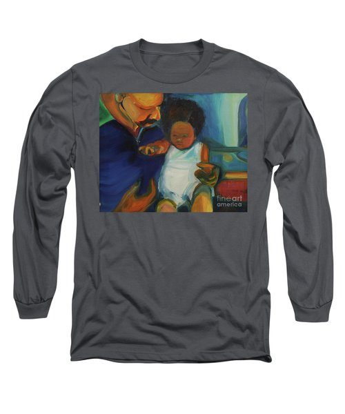 Trina Baby Long Sleeve T-Shirt by Daun Soden-Greene