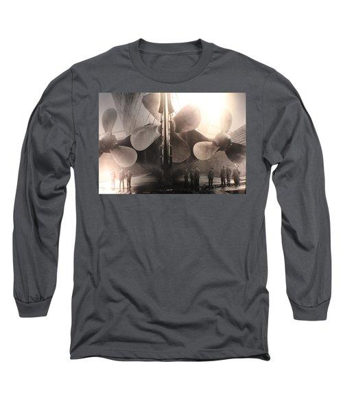 Triple Screws Long Sleeve T-Shirt