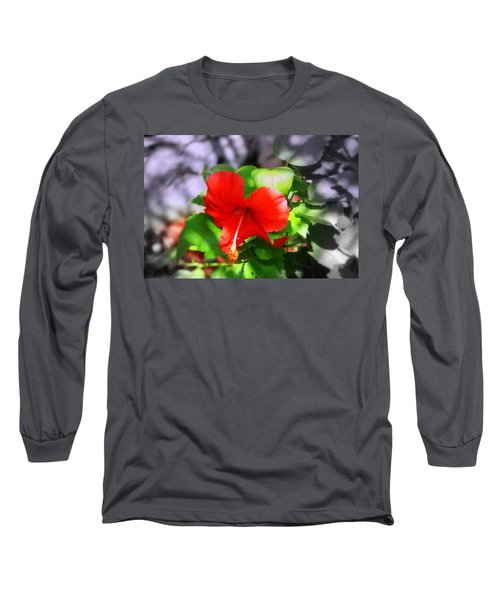 Tropical Burst Long Sleeve T-Shirt