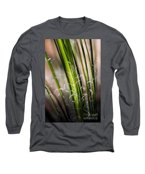 Tropical Grass Long Sleeve T-Shirt