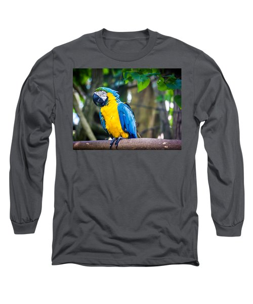 Tropical Parrot Long Sleeve T-Shirt