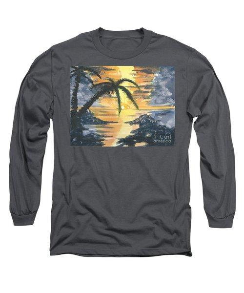Tropical Sun Long Sleeve T-Shirt