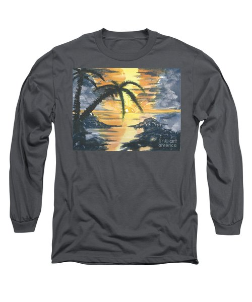 Tropical Sun Long Sleeve T-Shirt