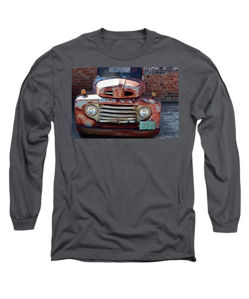 Ford In Goodland Long Sleeve T-Shirt by Lynn Sprowl