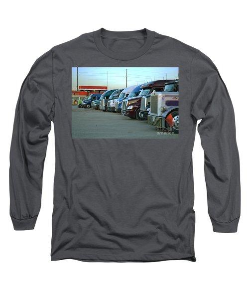 Truck Stop Long Sleeve T-Shirt