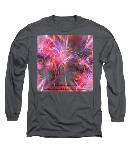 Truth Shall Spring Out Long Sleeve T-Shirt by Margie Chapman