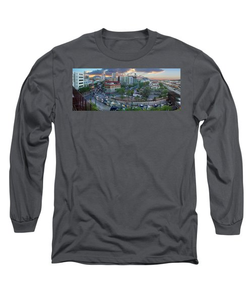 Tucson Streetcar Sunset Long Sleeve T-Shirt