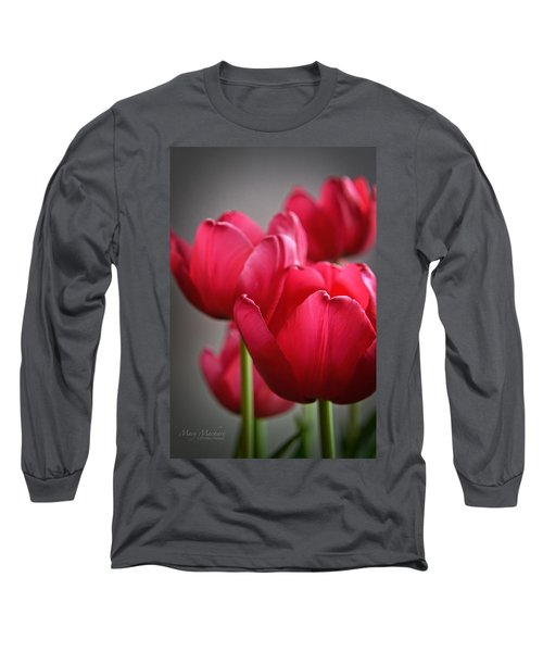 Tulips In The  Morning Light Long Sleeve T-Shirt