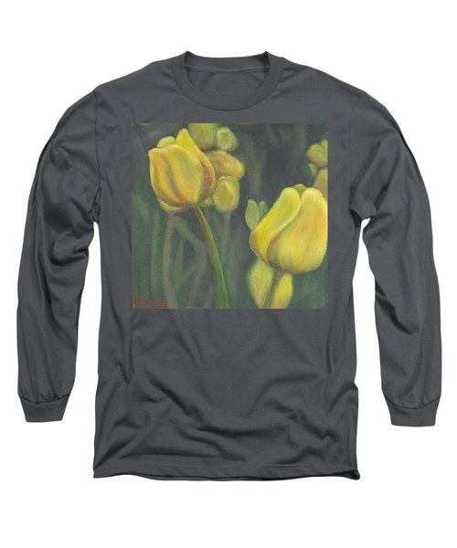'tulips Stand' Long Sleeve T-Shirt